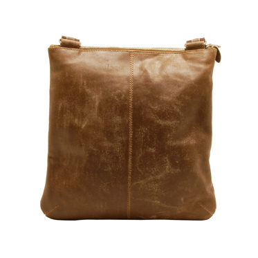 Ashwood – Antique Tan Cow Vintage Distressed Leather Camden Messenger Day Bag