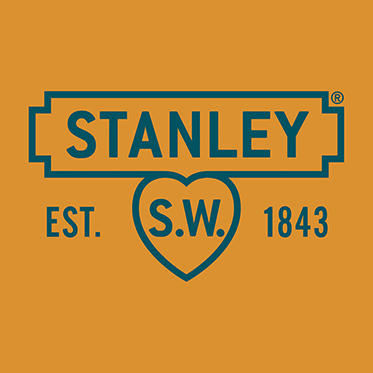 Stanley Tools – Mini Stone Coloured Canvas Dopp/Wash Bag with Leather Trim