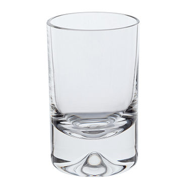 Dartington Glass – Dimple Pair of Shot Glasses in Gift Box