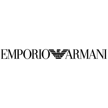 Emporio Armani – White with Blue Back Wayfarer Aviator Sunglasses