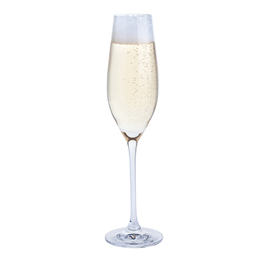 Dartington Crystal – Fizz Fizz Fizz Three Pack Champagne Glass Set in Gift Box