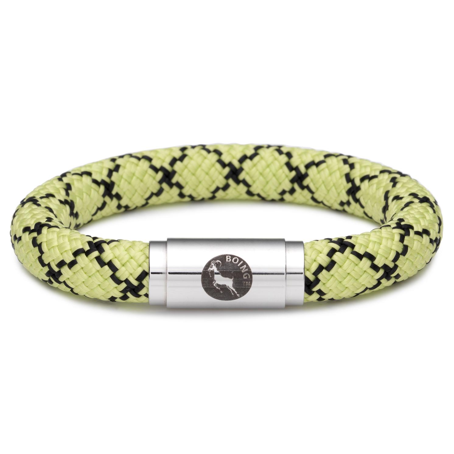 Boing – Chunky Large Wristband in Masai Green