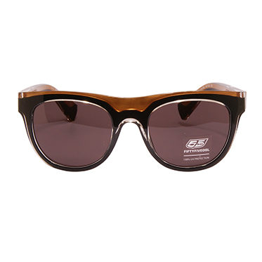 Diesel 55DSL – Black & Gold Mike Hawk Classic Retro Style Sunglasses