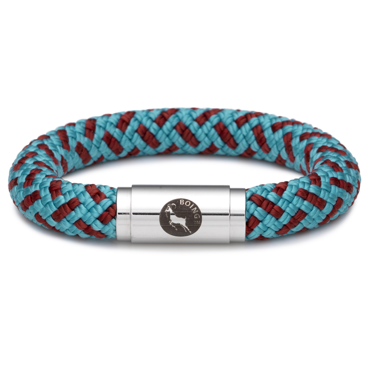 Boing – Chunky Large Wristband in Inca Blue