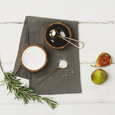 The Just Slate Company – Sheesham Wood Condiment Set in Presentation Box
