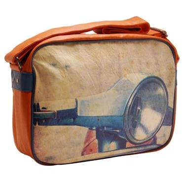 Plan B – Retro Scooter Reporter/Messenger Bag