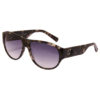 Guess – Black Metal Aviator Sunglasses
