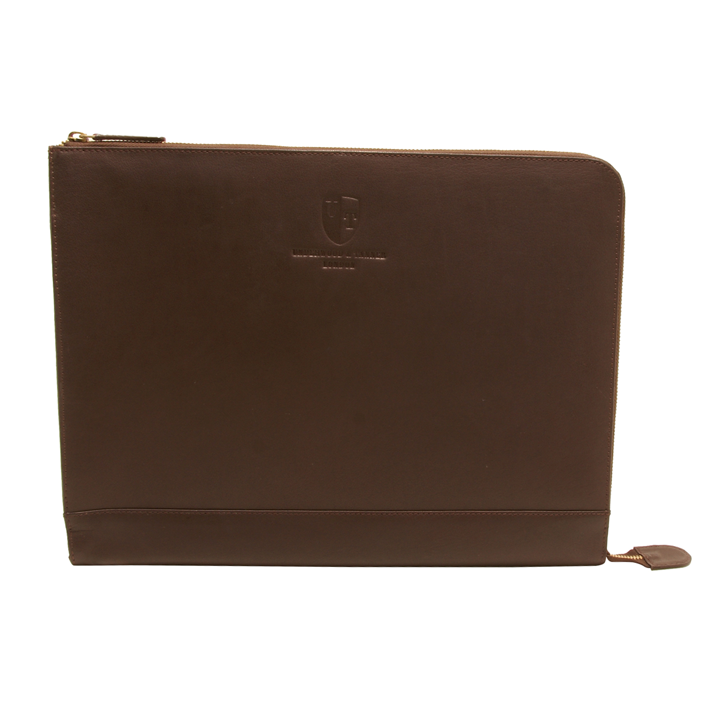 Underwood & Tanner – Brown Leather Shoreditch A4 City Document Case