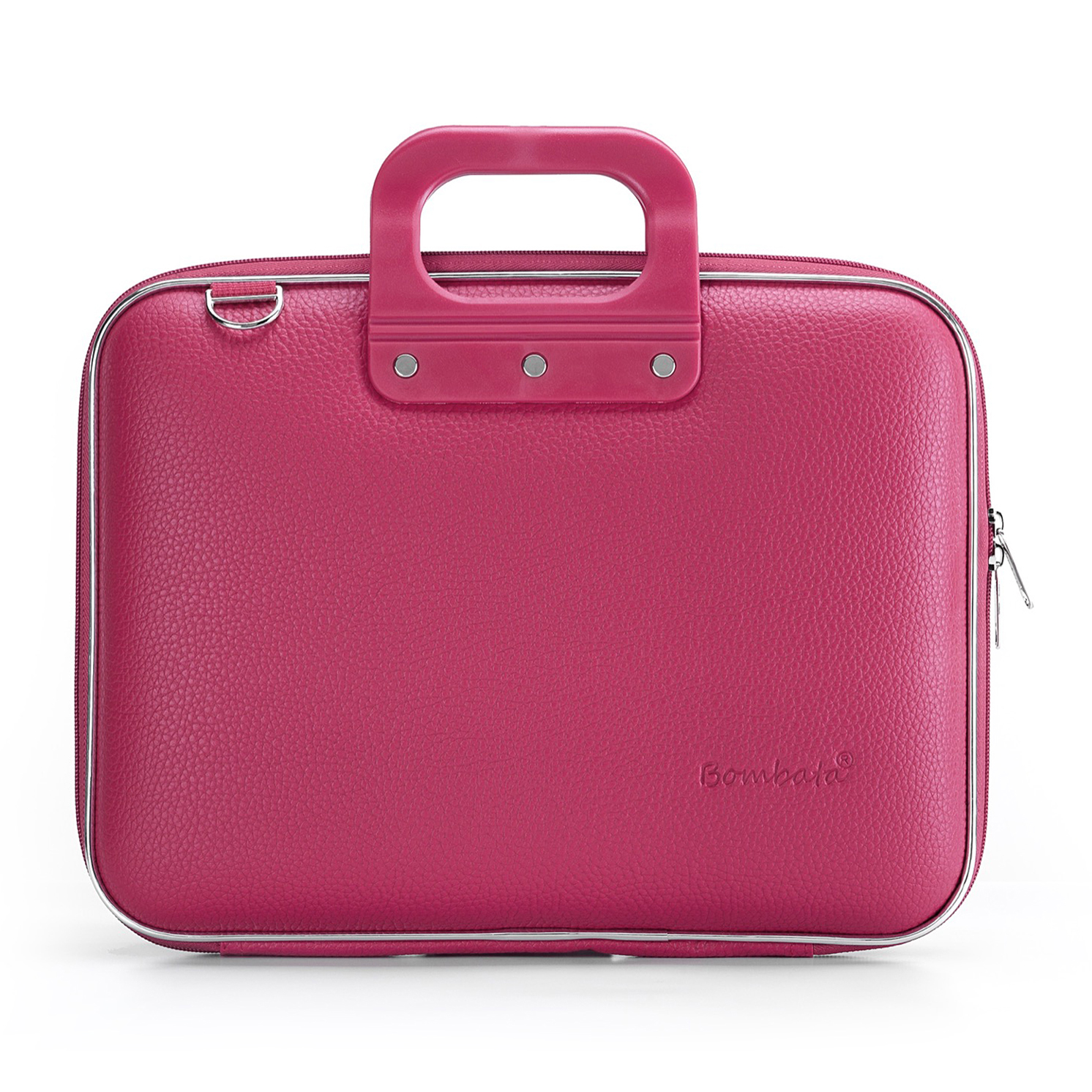 Bombata – Pink Medio Classic 13″ Laptop Case/Bag with Shoulder Strap