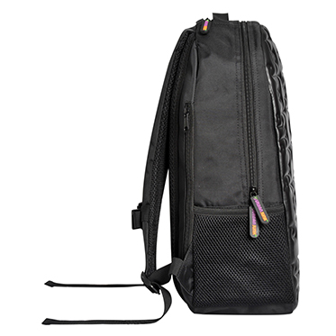 Urban Junk – Puzzle Black 3rd Dimension Embossed Rucksack/Backpack