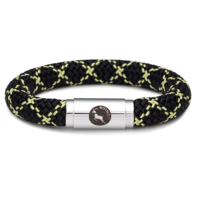 Boing – Chunky Large Wristband in Masai Black