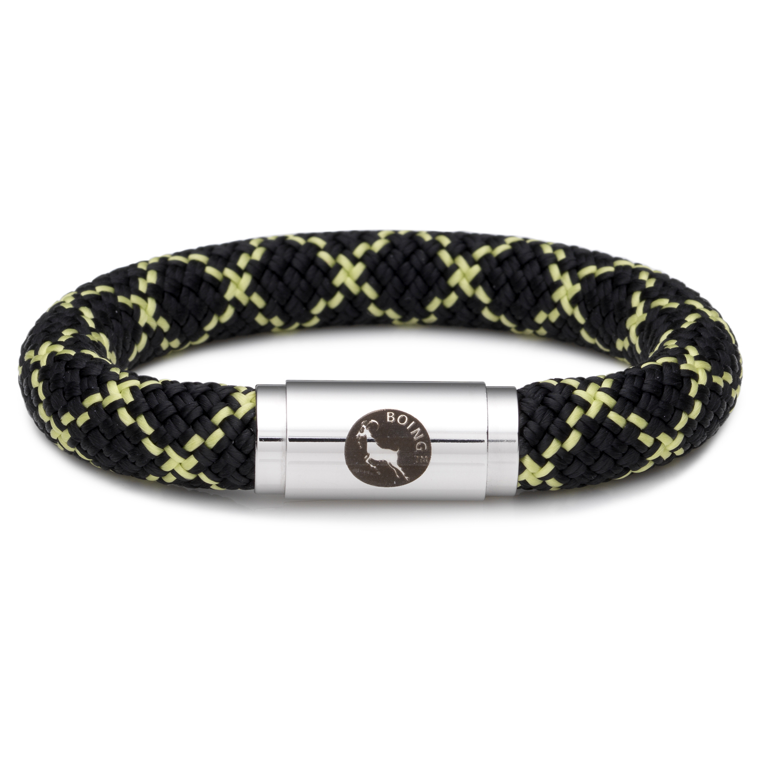 Boing – Chunky Large Wristband in Masai Black