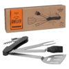 Gentlemen's Hardware – 3 Piece Beard Care Kit in Metal Tin