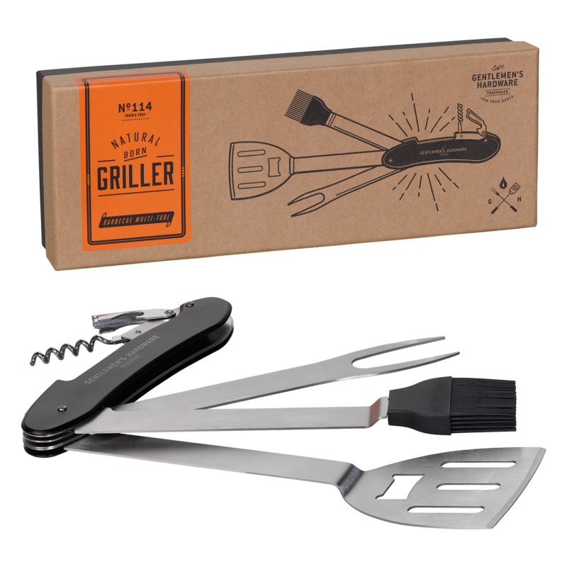 Gentlemen's Hardware – Barbecue Multi Tool in Presentation Gift Box