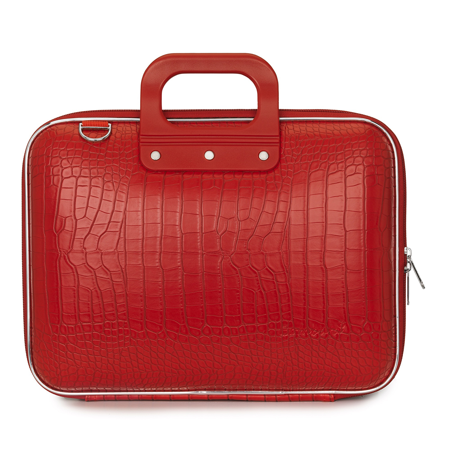 Bombata – Bright Red Medio Cocco 13″ Laptop Case/Bag with Shoulder Strap