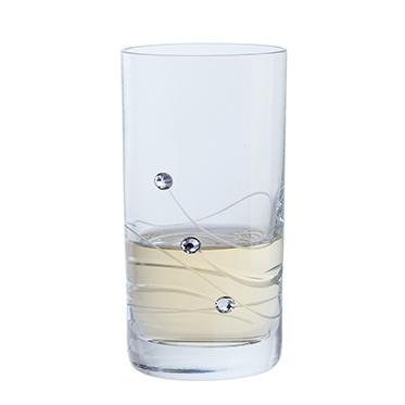 Dartington Glass – Glitz Collection Pair of Shot Glasses in Gift Box