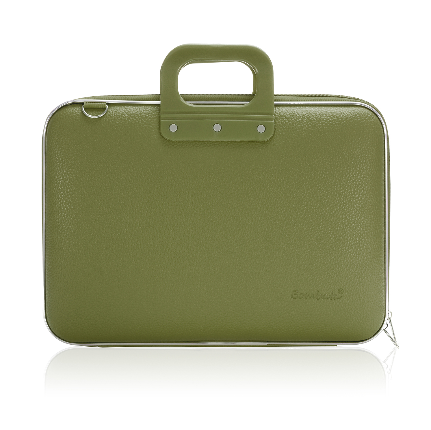 Bombata – Khaki Classic 15″ Laptop Case/Bag with Shoulder Strap