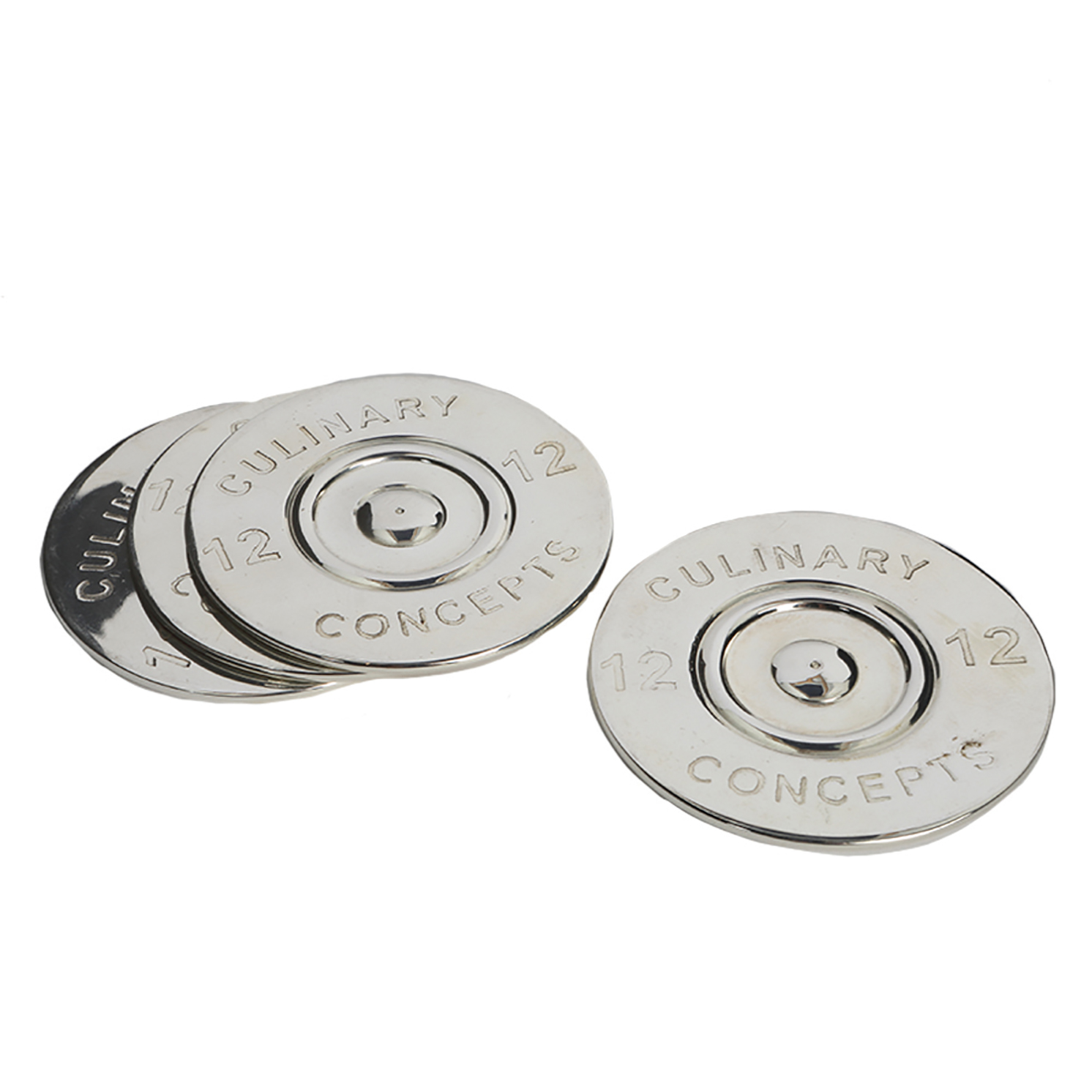 Culinary Concepts – Set of 4 Cartridge Bottle Coasters in Gift Box