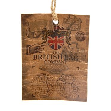 The British Bag Company – Breanais Harris Tweed Wash Bag in Gift Box