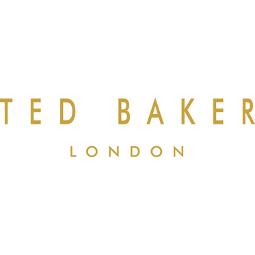 Ted Baker – Brown Brogue Double Hip Flask in Kiku Presentation Gift Box