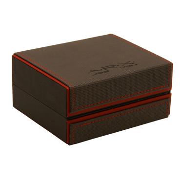 Jos Von Arx – Black Leather Integrated Bracelet