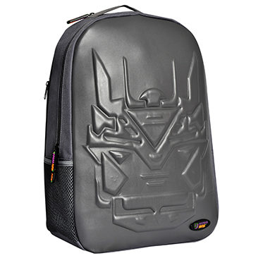Urban Junk – Bionic Grey 3rd Dimension Embossed Rucksack/Backpack