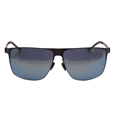 Mercedes Benz – Blue Rectangular Classic Sunglasses with Case