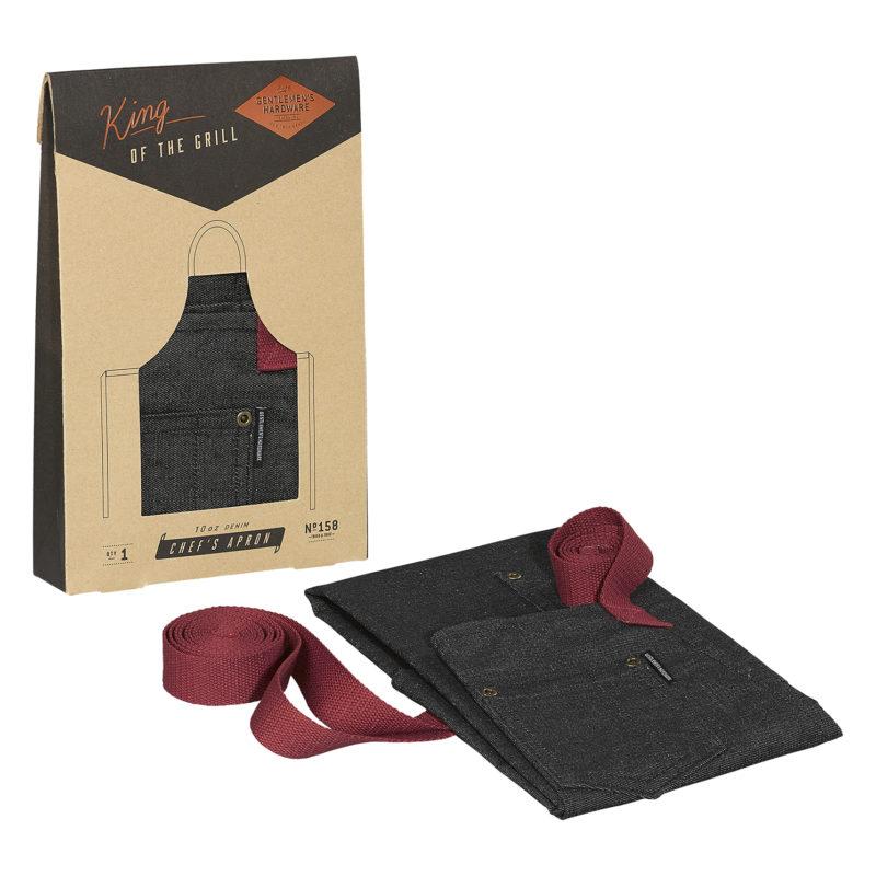 Gentlemen's Hardware – Chef's Apron in Kraft Gift Box