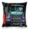 Ella Doran – Gridlock Blue Cushion