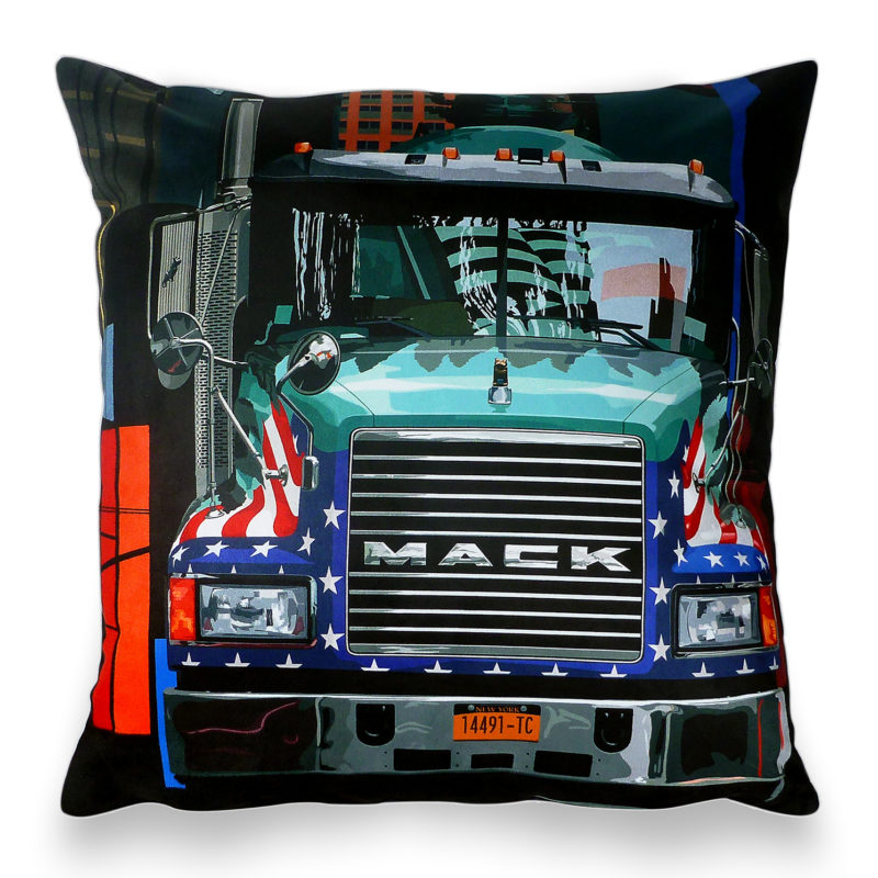 Leslie Gerry – New York Mack Cushion
