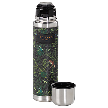 Ted Baker – Jungle Print Flask