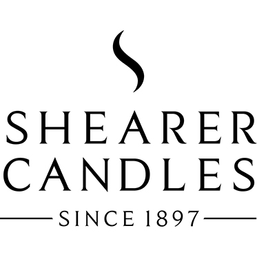 Shearer Candles – Large Gold Textured Glowing Embers Jar Candle