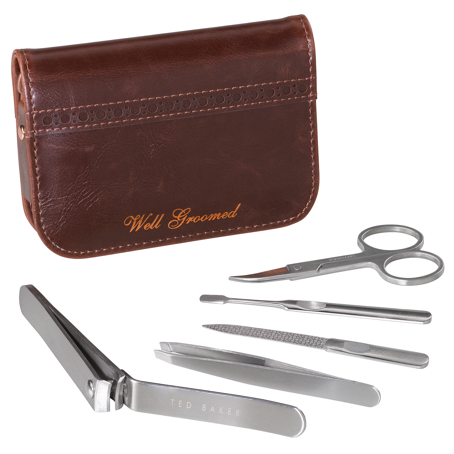 Ted Baker – Walnut Brown Manicure Set