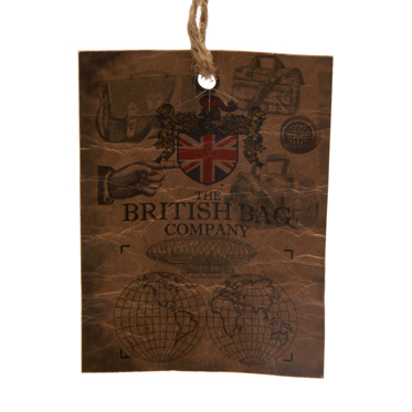 The British Bag Company – Green Check Travel Organiser in Millerain Waxed Cotton