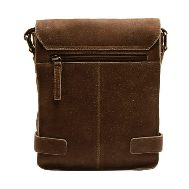 Ashwood – Small Antique Tan Cow Vintage Leather Camden Messenger Flight Bag
