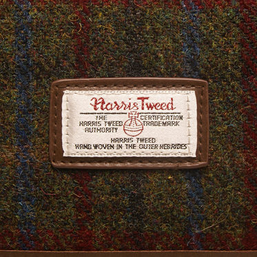 The British Bag Company – Breanais Harris Tweed Briefcase Messenger Bag