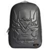 Urban Junk – Hex Black 3rd Dimension Embossed Rucksack/Backpack