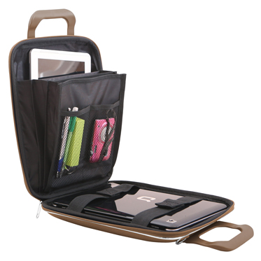 Bombata – Taupe Micro Classic 11″ Tablet Case/Bag with Shoulder Strap
