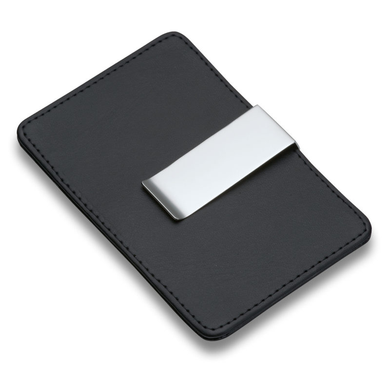 Philippi – Giorgio Black Leather Credit Card Holder and Money Clip