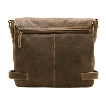 Ashwood – Antique Brown Distressed Cow Vintage Leather Camden Messenger Bag