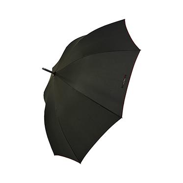 Soake – Black Walking Stick Style Automatic Luxury Umbrella by Maison Perletti