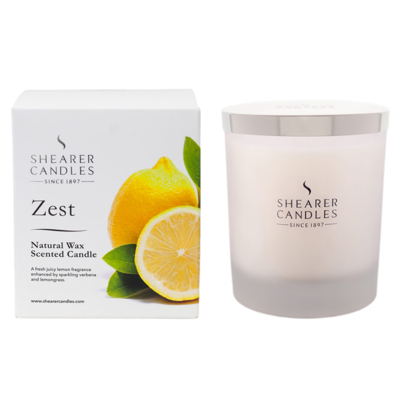 Shearer Candles – Zest Natural Spa Jar Candle