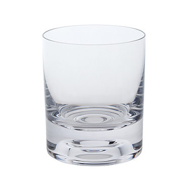 Dartington Crystal – Circle Barware Pair of Small Tumbler Glasses in Gift Box