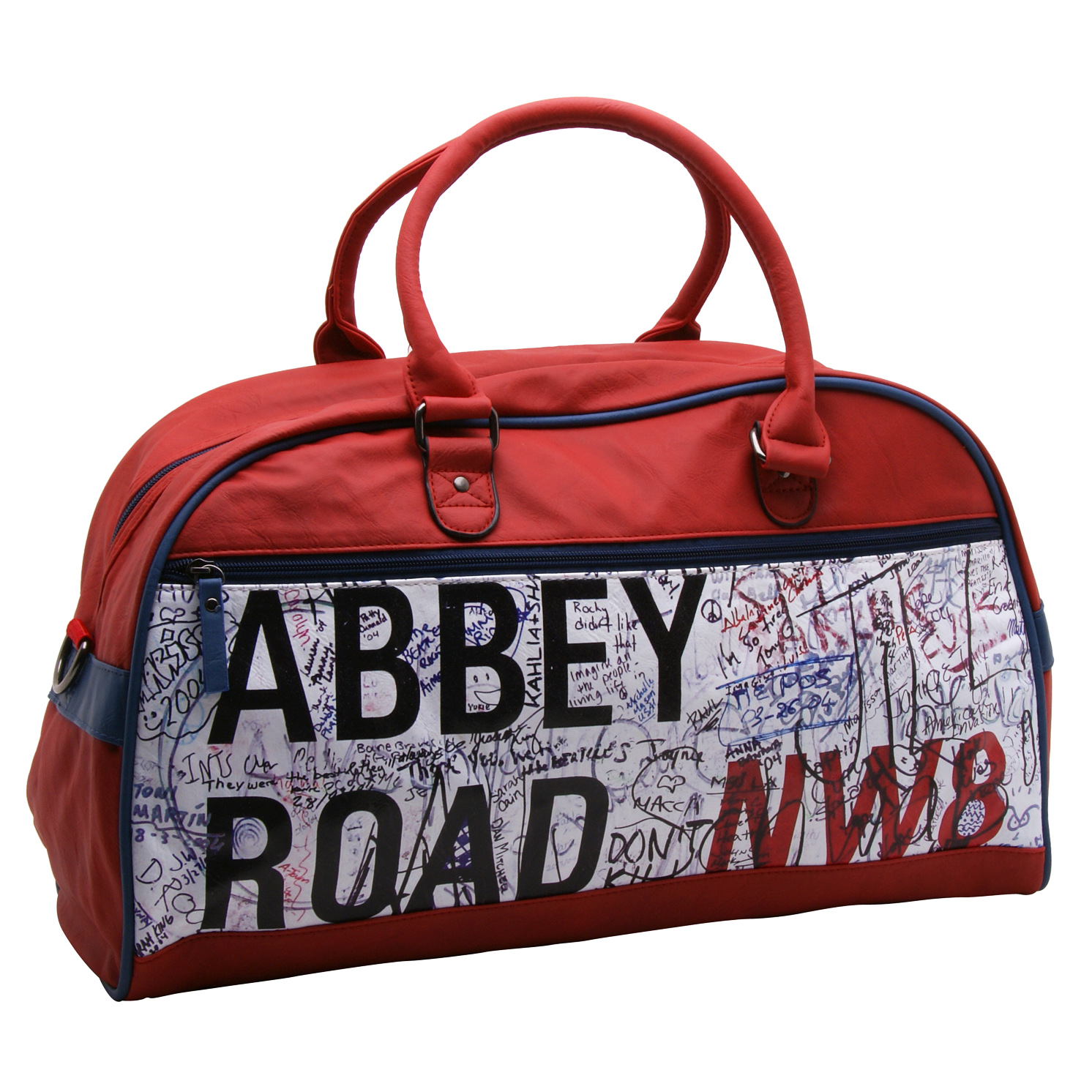 Plan B – Beatles Red Abbey Road Bowling Bag/Travel Holdall with Shoulder Strap