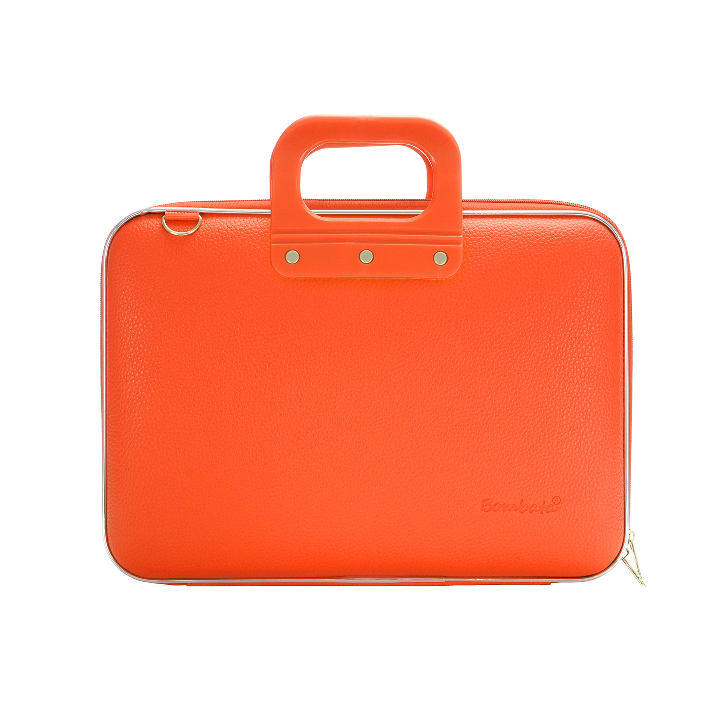 Bombata – Orange Medio Classic 13″ Laptop Case/Bag with Shoulder Strap