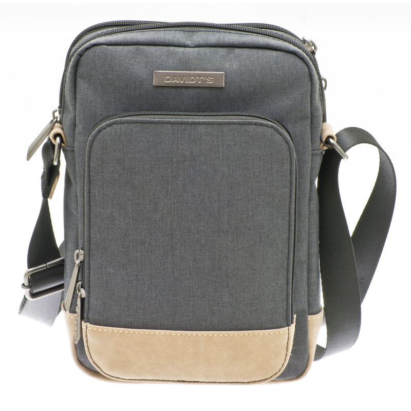Davidt's – Grey Medium Messenger/Body Bag from the Mood & Moov Range