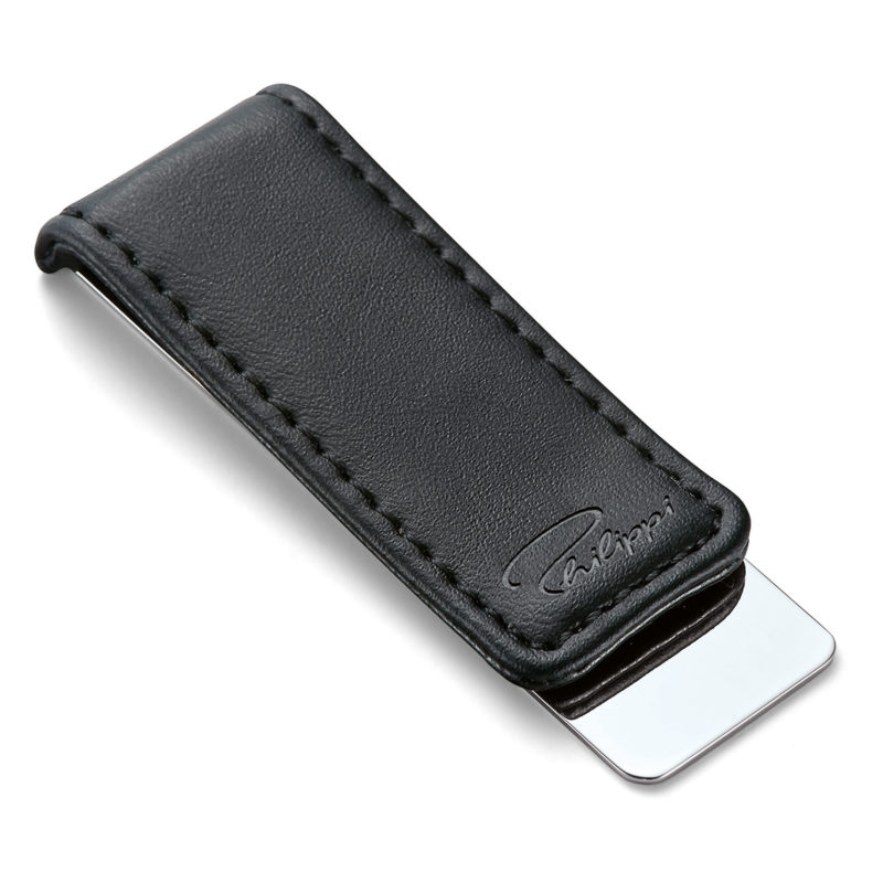 Philippi – Giorgio Black Leather Money Clip