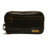 Rowallan – Brown Hanging Holborn Wash Bag in Full Grain Cow Softy Leather