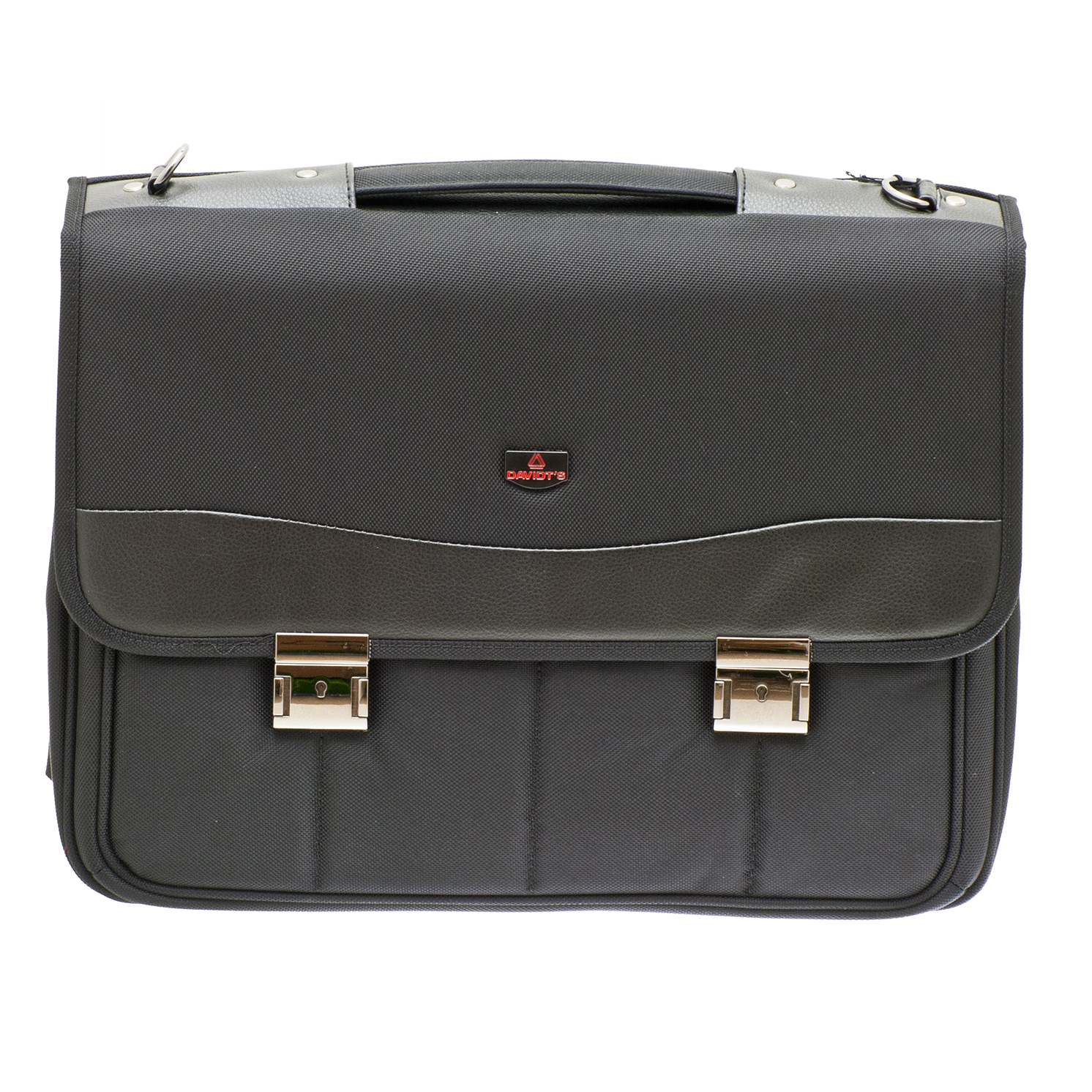 Davidt's – Black Laptop Briefcase Business Bag from the Monte Carlo Range