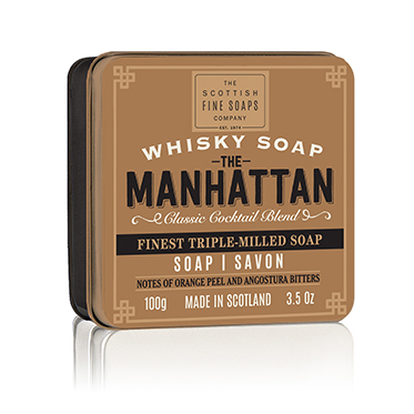 The Scottish Fine Soaps Company – Set of 3 Whisky Cocktails Range Soaps in Gift Tins
